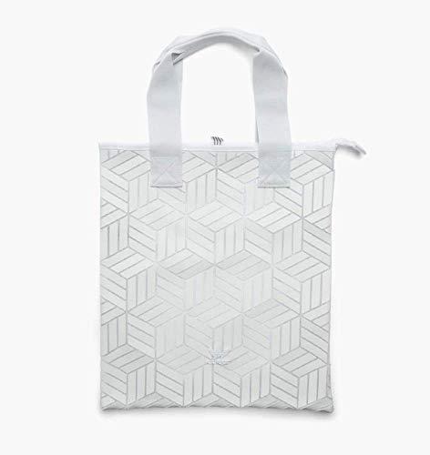 adidas Damen Originals Shopper 3D Tasche Weiß, NS