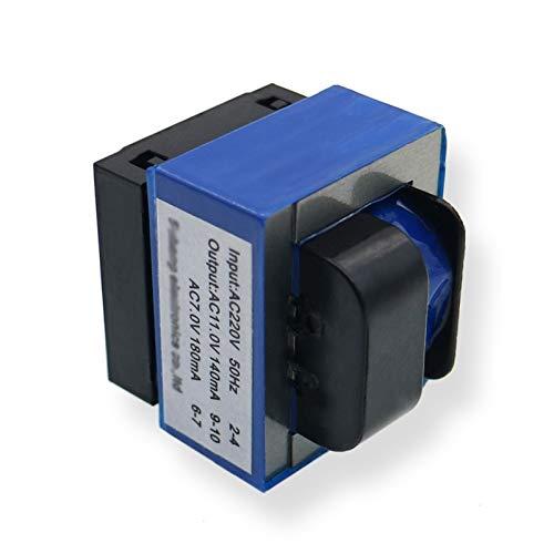Wnuanjun 1 unids microondas Horno Transformador computadora Tablero Transformador Siete pies 220v ac11v 7v electrodomésticos Piezas