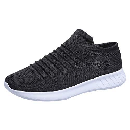 Dorical Damen Leichte Laufschuhe Sneaker Running Mesh Atmungsaktiv Turnschuhe Schnürer Sportschuhe Bequem rutschfeste Fitnessschuhe Gr 35-43