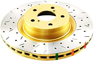 DBA DBA42716XS 4000 XS Cross-Drilled and Slotted Front Vented Disc Brake Rotor