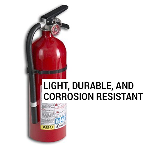 Kidde 21005779 Pro 210 Fire Extinguisher, ABC, 160CI, 4 lbs, 2 Pack