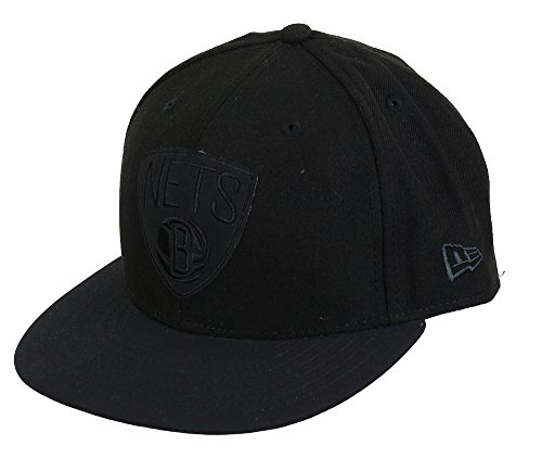 New era Brooklyn Nets Basecap Buck Tone Black/Black - 7 5/8-61cm