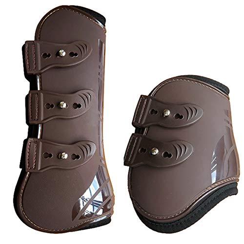 Rehomy koń przednie tylne nogi buty regulowane ochrona nogi koń ochrona ochrona przed ścięgnem jeździectwa buty dla koni 4 szt./partia