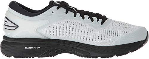 ASICS Men's Gel-Kayano 25 (4E) Running Shoes, 8.5XW, Glacier Grey/Black