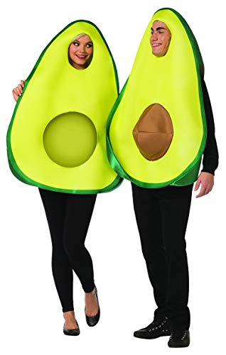 Rasta Imposta Avocado Couples 2 Piece Funny Costume Adult Mens Womens One Size Green