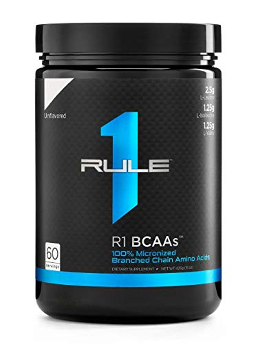Rule1 R1 BCAA - Unflavored 60Serv Standard