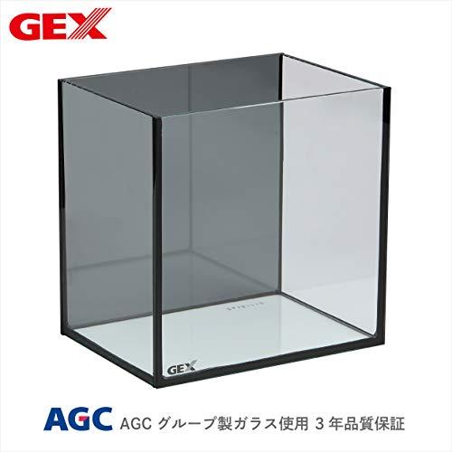 ジェックス グラステリアメダカ 横見 スモークガラス採用(背面) メダカ室内飼育用水槽 横から眺めるタイプ
