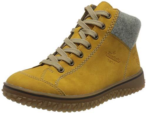 Rieker Damen Z4243 Mode-Stiefel, Honig/Fog 69, 41 EU