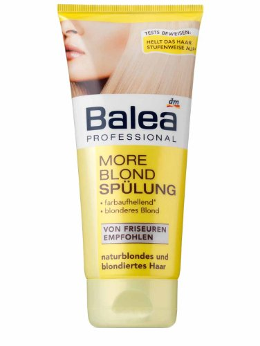 Balea Professional More Blond Spülung, 5er Pack (5 x 200 ml)