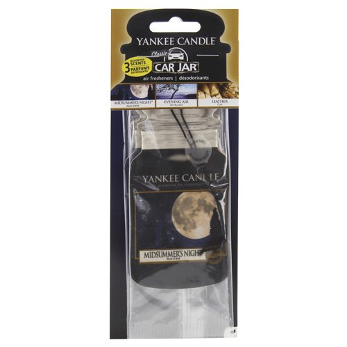 Yankee Candle 1159971E Car Freshener, Car Jar Variety 3 Pack, Cruise Night