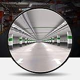 RMAN® Espejo convexo 30 cm espejo de tráfico profesional espejo de observación espejo de seguridad interior y exterior