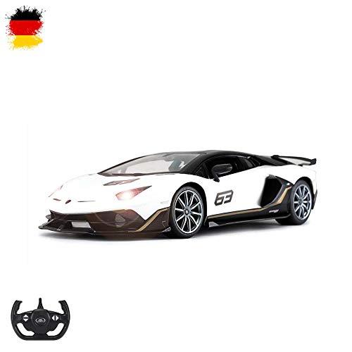 Lamborghini Ferngesteuertes RC Fahrzeug Aventador SVJ Design, Lizenz-Auto, Lizenziertes Modell, Maßstab 1:14, Ready-to-Drive, Auto inkl. Fernsteuerung