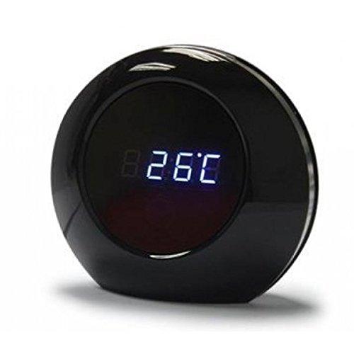 YATEK Reloj Camara espia Despertador, cámara indetectable con grabación de más de 15h y Sensor de Movimiento