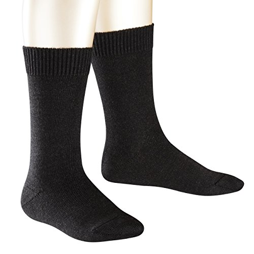 Falke Kinder Socken Comfort Wool 3er Pack, Größe:35-38;Farbe:anthracite melange