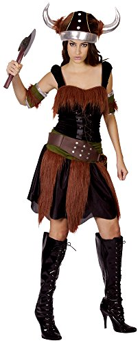 ADULTS Adult Costume: Viking Lady (disfraz)
