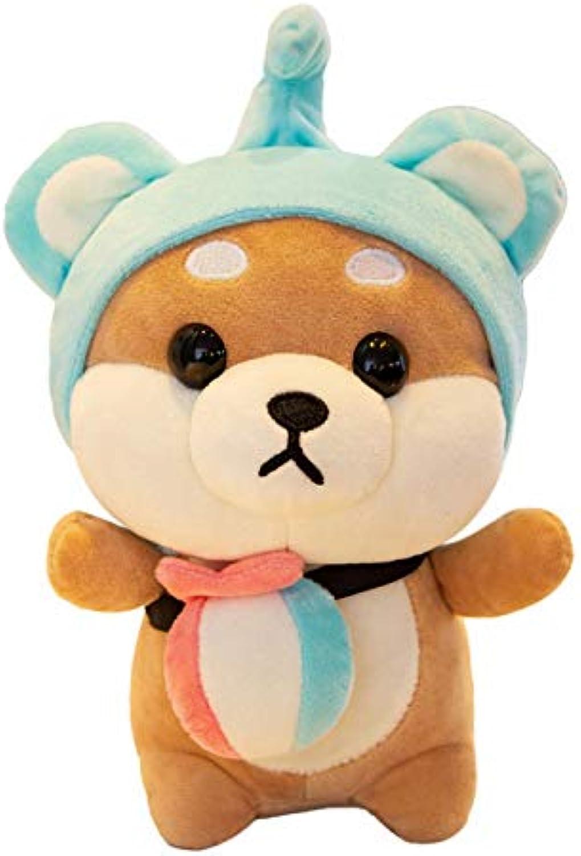 Generic Plüsch Spielzeug Hund Puppe Scounciation Puppe süe beruhigende Puppe 25cm