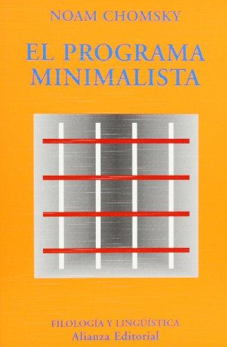 El programa minimalista (El Libro Universitario - Ensayo)