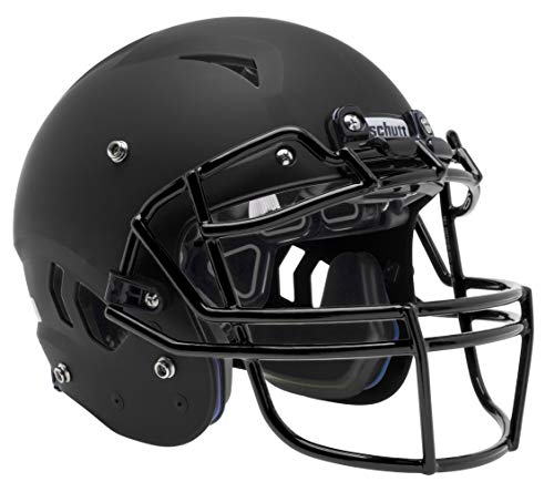 Schutt Sports Vengeance A11 Youth Football Helmet, Facemask NOT Included, Matte Black, Large