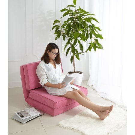 Your Zone Flip Chair, Racy Pink + Cleaning Cloth