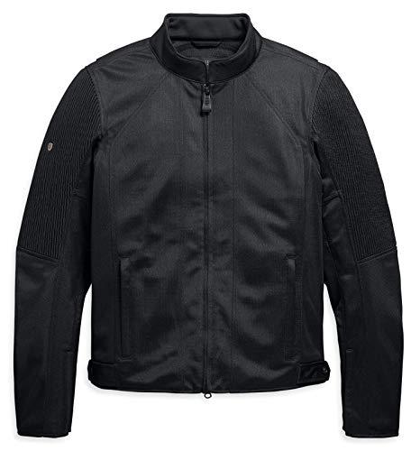 HARLEY-DAVIDSON Herren Motorrad Jacke Schutzjacke mit Panzerung Ozello, XL