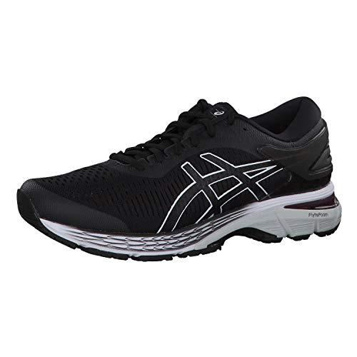 Asics Men's Gel-Kayano 25 Running Shoes,Black (Black/Glacier Grey 003) ,7 UK (41.5 EU)