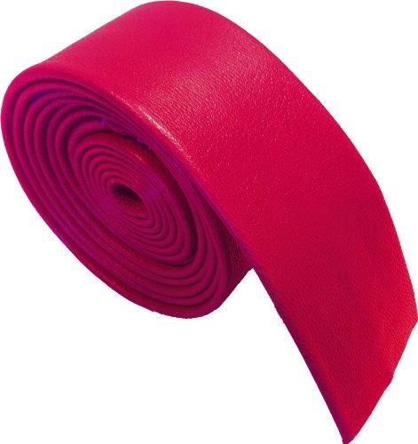 100% Cuero Corbatas (Rojo)