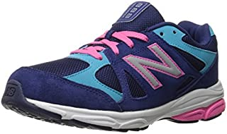 New Balance KJ888V1 Grade Running Shoe (Big Kid) Blue/Pink 6.5 M US Big Kid [並行輸入品]