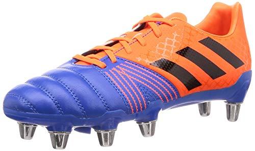 adidas Mens Kakari SG Rugby Boots Blue/Orange UK 8 (42)