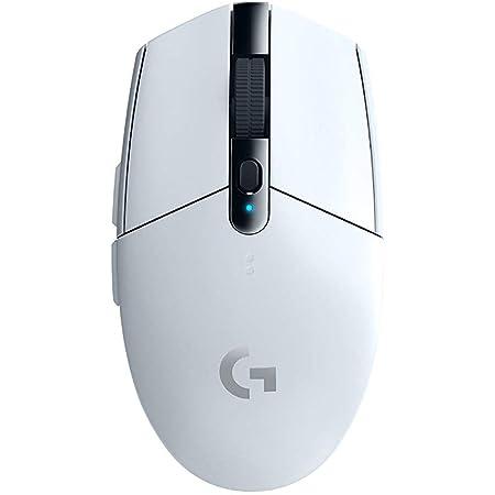 Logicool G ロジクール G ゲーミングマウス ワイヤレス G304 ホワイト HERO センサー LIGHTSPEED 無線 99g 軽量 G304rWH 国内正規品 【 ファイナルファンタジーXIV 推奨周辺機器 】