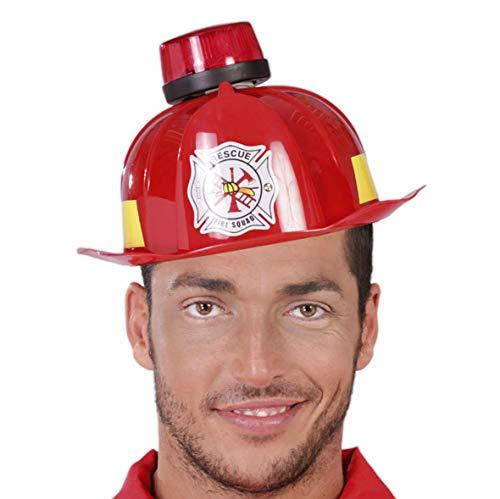 Guirca Fiestas GUI13272 - Feuerwehrshelm mit Sirene, Licht und Ton
