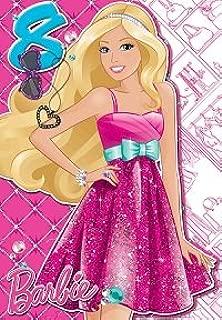 Barbie - Tarjeta de felicitación de cumpleaños, diseño de ...