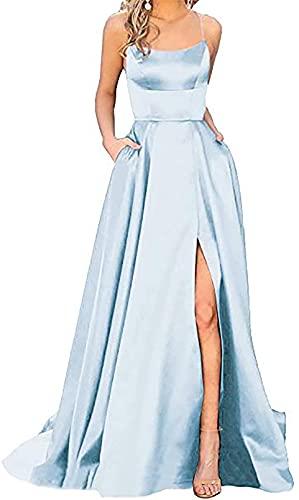 Vestidos De Fiesta Tallas Grandes,Vestidos De Fiesta Cortos 2021,Sexy sin Espalda, Escote...