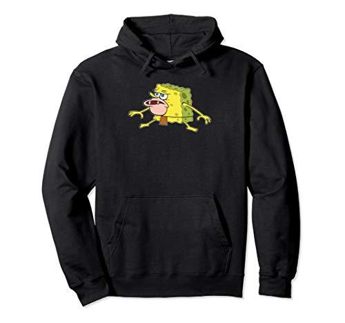 Caveman Spongebob Meme Pullover Hoodie