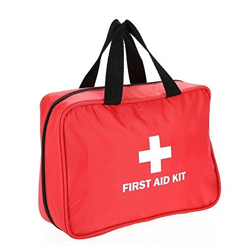 Erste Hilfe Set, Medizinische Tasche Notfalltasche Medizinisch Tasche Klein kompakt Perfekt Design für Haus Auto Camping Jagd Reisen Natur und Sport