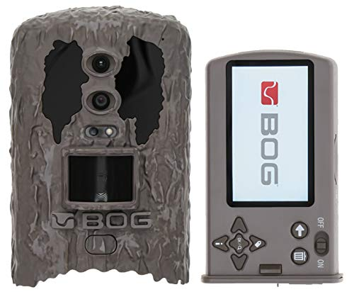 BOG Blood Moon 22MP Dual Sensor Infrared Camera with Removable Photo Viewing Screen, Image Tagging, HD Video and Low Glow for Hunting, Land Management and Security, Brown (1116328)