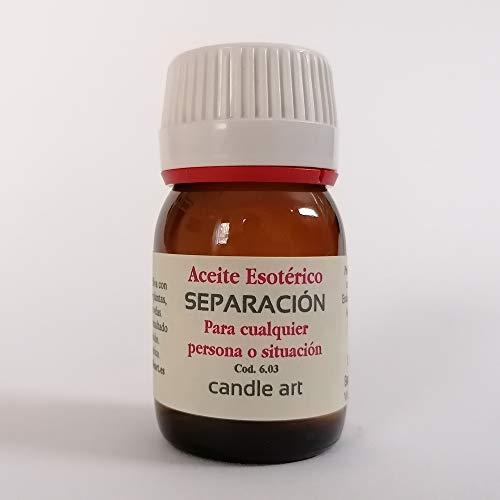 Candle Art Aceite con extracto de Plantas SEPARACIÓN - UNGIR Velas