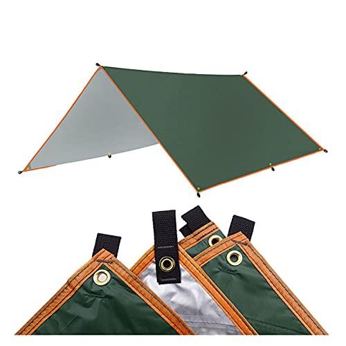 YSJJYQZ Tienda de campaña 4x3m 3x3m toldo Impermeable Tapa Taza tiendada Taza Ultraligero jardín con Dosel de Sombrero al Aire Libre Camping Hamaca Lluvia Mosca Playa Sol Refugio