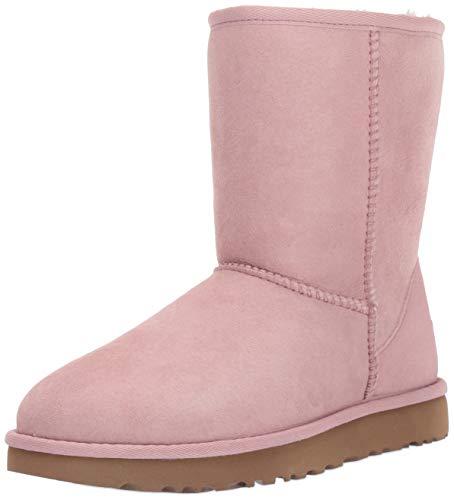 UGG Women's Classic Short II Fashion Boot, Pink Crystal, 5 M US