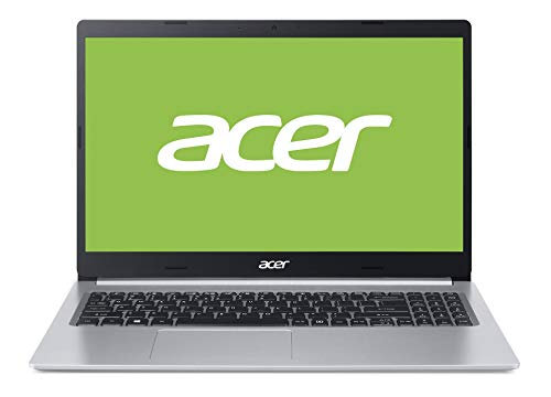 Acer Aspire 5 (A515-54G-56XE) 39,6 cm (15,6 Zoll Full-HD IPS matt) Multimedia Laptop (Intel Core i5-10210U, 8 GB RAM, 512 GB PCIe SSD, NVIDIA GeForce MX250, Win 10 Home) silber