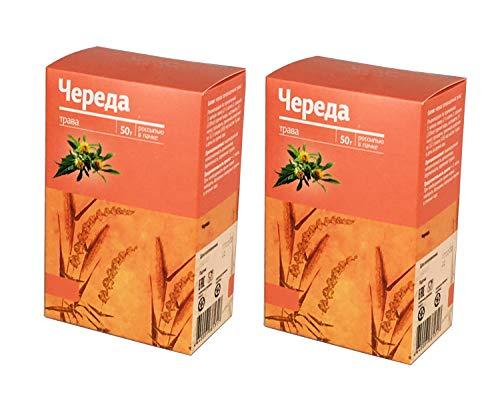 Dreiteiliger Zweizahn (lat. Bidens tripartita, rus. Chereda) getrocknet geschnitten 100g