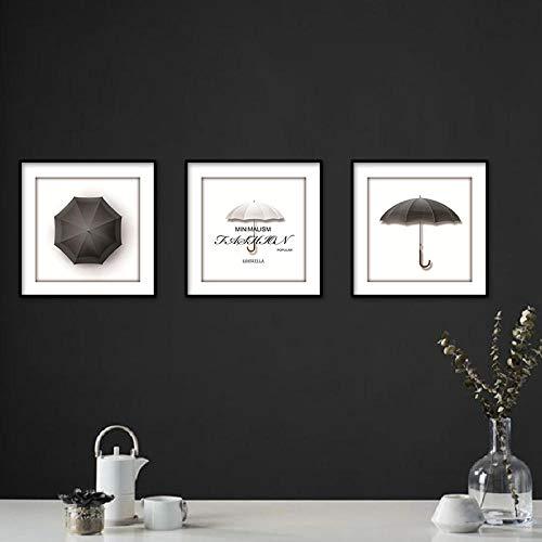 Huamrzhang Moderne Bild Regenschirm Kunst Malerei Wandbilder Für Wohnzimmer Dekoration Große Leinwand Drucke Poster