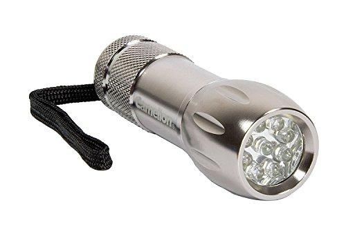 Lampe de poche Camelion ct4004 avec 9 LED, aluminium, avec 3 piles AAA R03 302 00011