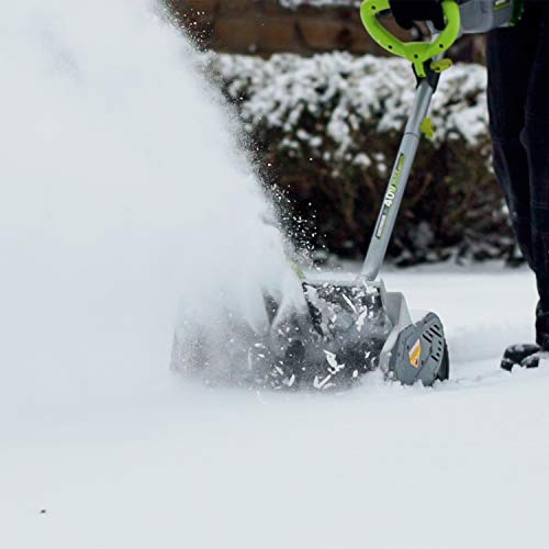 Snowy? Frosty? No problemo with an electric snow shovel 11