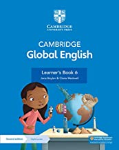 Cambridge Global English Learner's Book 6 with Digital Access (1 Year): for Cambridge Primary English as a Second Language