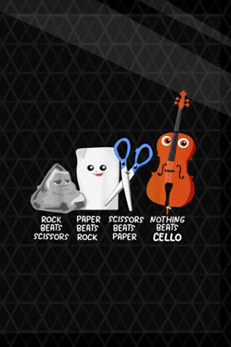 Vitamin & Supplements Tracker| Nothing Beats Cello Quote Funny Cellist Kids