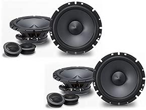 Alpine SPS-610C 6-1/2 Component 2-Way Speaker System Bundle