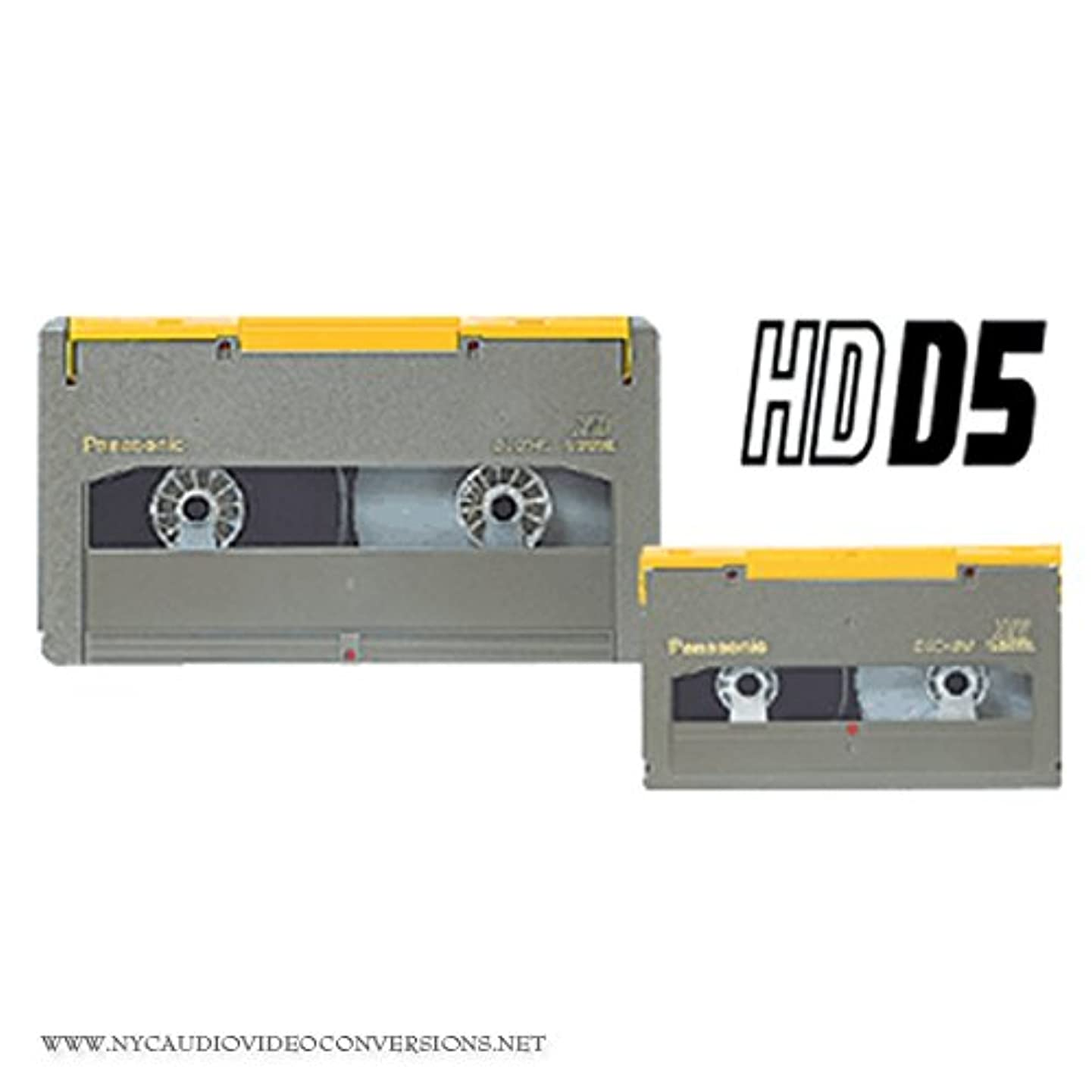 Video Tape Transfer Service (D5 to DVD or UNCOMPRESSED HD QUICKTIME)