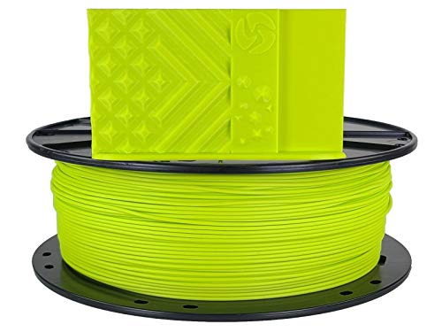 3D Fuel Standard PLA 3D Printing Filament, Made in USA with Dimensional Accuracy +/- 0.02 mm, 1 kg 1.75 mm Spool (2.2 lbs) in LulzBot Green