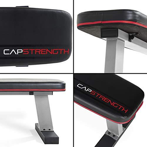 CAP Barbell Flat Utility Bench, Black/Gray
