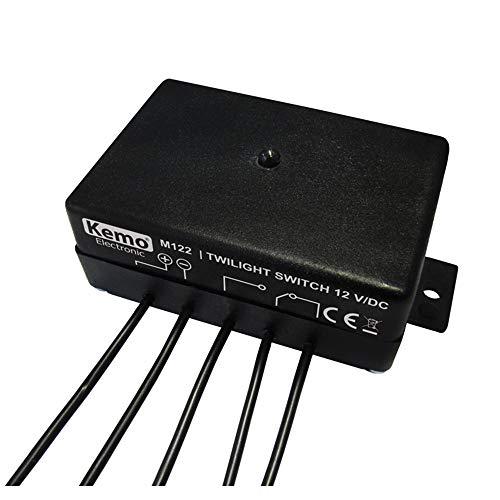 Kemo - Interruptor crepuscular (12 V/CC)